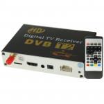 Haute vitesse 90 kmh H.264 / AVC MPEG4 mobile voiture numérique Récepteur TV, Costume l'Europe SingaThaïlande Afrique ect. Ma...
