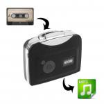 Convertisseur de cassette audio Ezcap 230 cassettes en MP3 Capture lecteur musique Noir - wewoo.fr