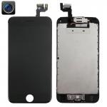 Écran LCD iPhone 6S 4 en 1 Caméra avant + cadre pavé tactile Assemblée Digitizer Noir - wewoo.fr
