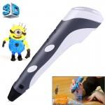 Imprimante 3D main Pen impression 3D, Plug-UE Gris - wewoo.fr