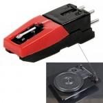 Convertisseur de vinyle stylet stéréo Aiguille USB LP Platine Turnplate Noir - wewoo.fr