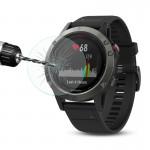 Protection écran Objet connecté Hat-Prince Garmin Fenix ??5 montre Smart Watch 0.2mm 9H dureté de surface 2.15D Sérigraphie a...