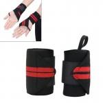 Bracelets de sport 2 PCS bande élastique Badminton Haltérophilie Bandes électriques, Taille: 43 x 8 cm, couleur aléatoire Liv...