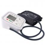 Tensiomètre LCD entièrement automatique Bras style moniteur de pression artérielle, certificats CE et ROHS - wewoo.fr