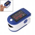 Tensiomètre RZ201 Moniteur de saturation en oxygène du sang Fingertip oxymètre pouls avec affichage LED, affichage, CE et ROH...
