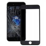 Vitre avant iPhone 7 plus iPartsAcheter 2 en 1 Lentille extérieure originale verre + cadre d'origine Noir - wewoo.fr