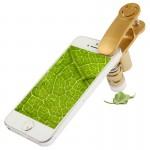 Microscope iPhone 60-100x Zoom téléphone portable avec clip Smile Universal, 60x Universal Gold - wewoo.fr