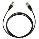 Câble BNC mâle à caméra de surveillance, Longueur: 1,2 m - wewoo.fr