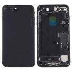 Coque arrière iPhone 7 Plus Battery Retour Assemblée couverture avec carte Plateau Noir - wewoo.fr