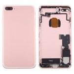 Coque arrière iPhone 7 Plus Battery Retour Assemblée couverture avec carte Plateau or rose - wewoo.fr