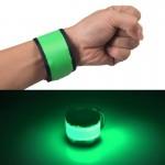 LED Lumineux Slap Pat Cercle Extérieur sport bracelet, petit, taille: 26 * 4 cm vert - wewoo.fr
