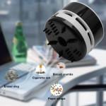 Mini aspirateur USB personnalité mignon de ménage / Bureau portable véhicule Table clavier Aspirateur, Taille: 8x6x6cm Noir ...