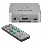 Adaptateur RCA EZCAP241 Audio Recorder capture carte 3,5 mm R / L analogique MP3 Musique Digitizer Converter Argent - wewoo.fr
