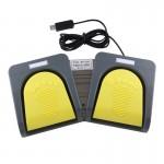 Gadgets USB Portable Foot Switch clavier Pédale de commande, Multimédia / Gamepad souris String B échographiques image Foncti...