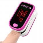Tensiomètre Finger Pulse Oximete LED HD Display oxymètre portable Equipement médical Moniteur d'oxygène sanguin de pouls Mage...