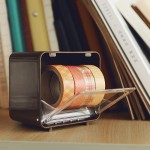 fournitures de bureau 2 PCS Multifonctionnel Creative Adhésif Ruban Boîte Rangement Table Finition L'école, Livraison Couleur...