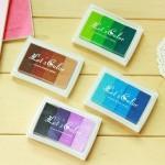 fournitures de bureau 4 PCS Creative Candy Coloré Encreur Gradient Couleur DIY Sceau Scolaire Bureau, Aléatoire Livraison - ...