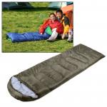 Tapis de camping Sac couchage chaud Rectangle Armée verte - wewoo.fr