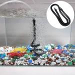 105cm Double Heads Aquarium pompe Bubble Bar Tuyau Accessoires d'air oxygène bande Diffuseur les aquariums et poissons - wew...