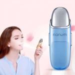 Brumisateur Nanum Beauté du visage hydratant Mini Massager Soins de la peau Déversement d'eau brumisation Humidifier Bleu - ...