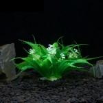 Décoration aquarium Arbre artificiel d'herbe en Figurines Miniatures poissons d'aquarium Paysage Réservoir, Taille: 25,0 x 18...