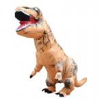 Déguisement Dinosaur gonflable Costume Adulte Halloween Costumes Gonflé dragon Parti Carnaval Femmes Hommes Brown - wewoo.fr