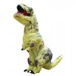 Déguisement Dinosaur gonflable Costume Adulte Halloween Costumes Gonflé dragon Party Carnaval Femmes Hommes Jaune - wewoo.fr