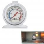 Thermomètres de cuisson Haute qualité en acier inoxydable Stand Up four thermomètre Gage 0-300 degrés Centigrade Argent - we...