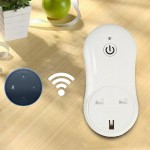16A 2.4GHz Alexa WiFi Smart Control minuterie Accueil Prise d'alimentation AC 100-240V, UK Plug - wewoo.fr