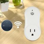 10A WiFi 2.4GHz Alexa Smart Control minuterie Accueil Prise d'alimentation AC 100-240V, Plug-US - wewoo.fr