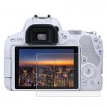 Protection écran appareil photo Canon EOS 200D 2.5D bord incurvé 9H dureté de surface Trempé Protecteur d'écran en verre - w...