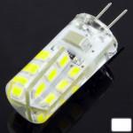 Ampoule LED SMD 2835 G4 2.5W blanc 24 Corn électrique, 220V AC - wewoo.fr