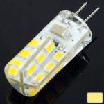 Ampoule LED SMD 2835 G4 2.5W blanc chaud 24 Corn ampoule, AC 220V - wewoo.fr