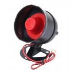 Système d'alarme Voiture Car Safty Avertissement Alarme moteur DC 12V 15W 6 Haut-parleur Tone Buzzer Dispositif anti-vol à ha...