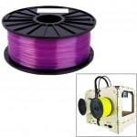 Consommable imprimante 3D PLA 1,75 mm Transparent Filaments de l'imprimante Violet - wewoo.fr