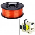 Consommable imprimante 3D PLA 1,75 mm Transparent Filaments de l'imprimante rouge - wewoo.fr