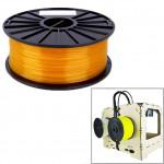 Consommable imprimante 3D PLA 1,75 mm Transparent Filaments de l'imprimante Orange - wewoo.fr