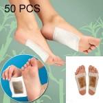 Soin des pieds 50 PCS Tradition chinoise Detox Wormwood Patch Foot Bamboo Pad vineger améliorer le sommeil Correctifs de beau...