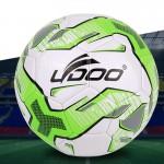 Ballon 19cm cuir PU couture portable Football Match Fluorescent vert - wewoo.fr
