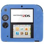 Accessoires 2DS Pure Color Ultra mince étui en silicone Nintendo Bleu - wewoo.fr
