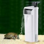 3W Cascade Style de débit d'eau réglable en eau peu profonde Aquarium Fish Tank silencieux Purificateur d'eau, prise américai...