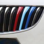 Décoration de Calandre 3 PCS voiture en plastique Bande avant Grill Grille Inserts Cover Strip Car Styling Accessoires Regal ...