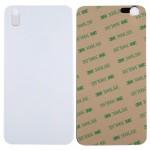 Pièces détachées iPhone X verre batterie couverture arrière Blanc - wewoo.fr