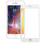 iPartsAcheter pour iPhone 8 Écran Avant Lentille En Verre Extérieur avec Cadre Avant Écran LCD (Blanc) - wewoo.fr