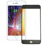 iPartsAcheter pour iPhone 8 Avant Écran Lentille En Verre Extérieur avec Cadre Avant Cadre LCD (Noir) - wewoo.fr