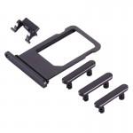 iPartsAcheter pour iPhone 8 Plus Plateau à cartes + Touche de contrôle du volume + Bouton d'alimentation + Touche de vibreur ...