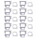 10 Ensembles iPartsBuy pour iPhone 8 Lunette de caméra de face avant + support de fixation de capteur - wewoo.fr
