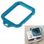 Adaptateur d'objectif GoPro TMC en aluminium Longe bague de montage avec un tournevis Hero 3 Bleu - wewoo.fr