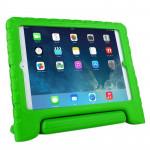 Coque rigide iPad Air EVA Matériau Résistance aux chutes étui de protection avec support vert - wewoo.fr