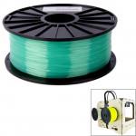 Consommable imprimante 3D PLA 3.0 mm Transparent Filaments de l'imprimante 3D, environ 115m vert - wewoo.fr